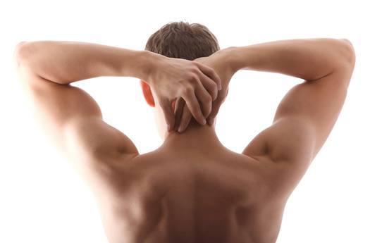 Muskuløs ryg, mand