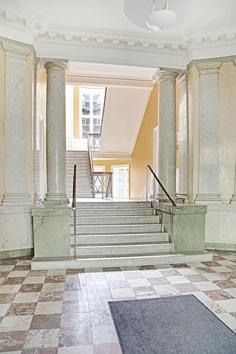 Hall og indgangsparti, Hammerensgade København