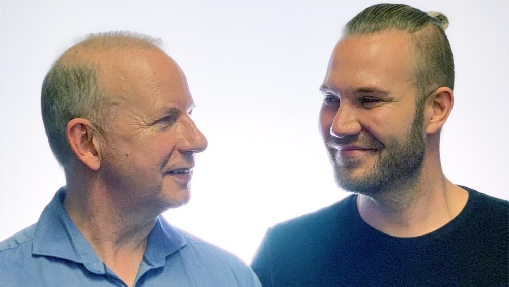 Erik Obitz og Kristoffer Ruvang