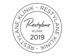 Certificeret Restylane klinik logo