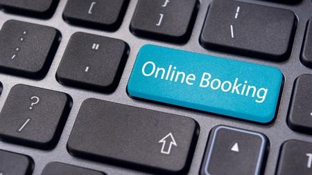 Tastatur med markeret online booking